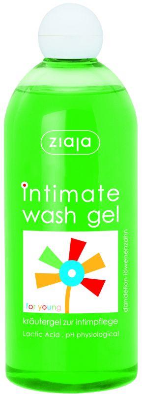 bylinná intimní hygiena s pampeliškou Ziaja