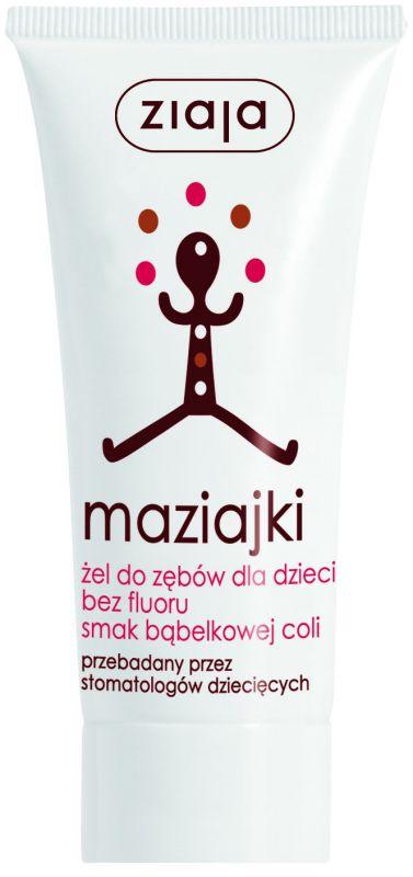 dětská zubní pasta /gel/ bublinková cola 50 ml Ziaja