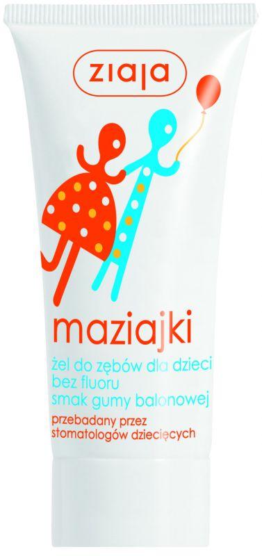 dětská zubní pasta /gel/ žvýkačka 50 ml Ziaja