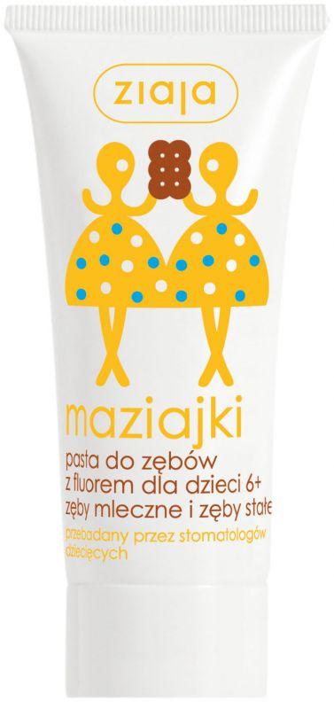 dětská zubní pasta s příchutí vanilkové zmrzliny 50 ml Ziaja