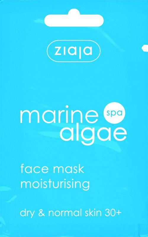 hydratační pleťová maska s mořskou řasou 7 ml Ziaja