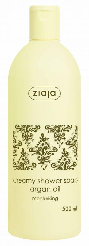 krémové sprchové mýdlo s arganovým olejem 500 ml Ziaja