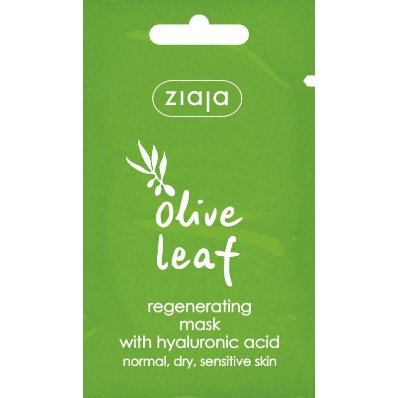 listy olivy regenerační pleťová maska 7 ml Ziaja