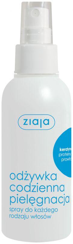 péče o vlasy ve spreji s keratinem 125 ml Ziaja