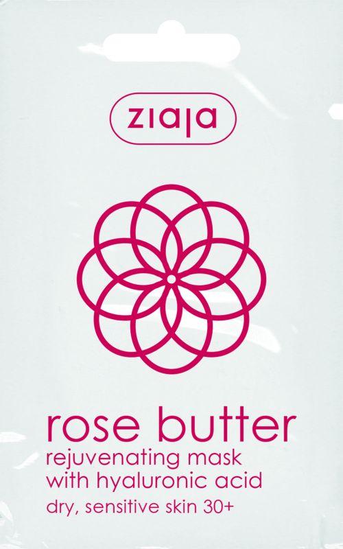 pleťová maska s růžovým máslem 7 ml Ziaja