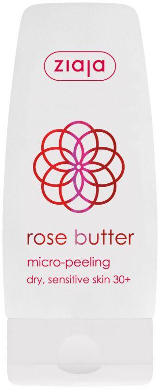 pleťový peeling s růžovým máslem 60 ml Ziaja