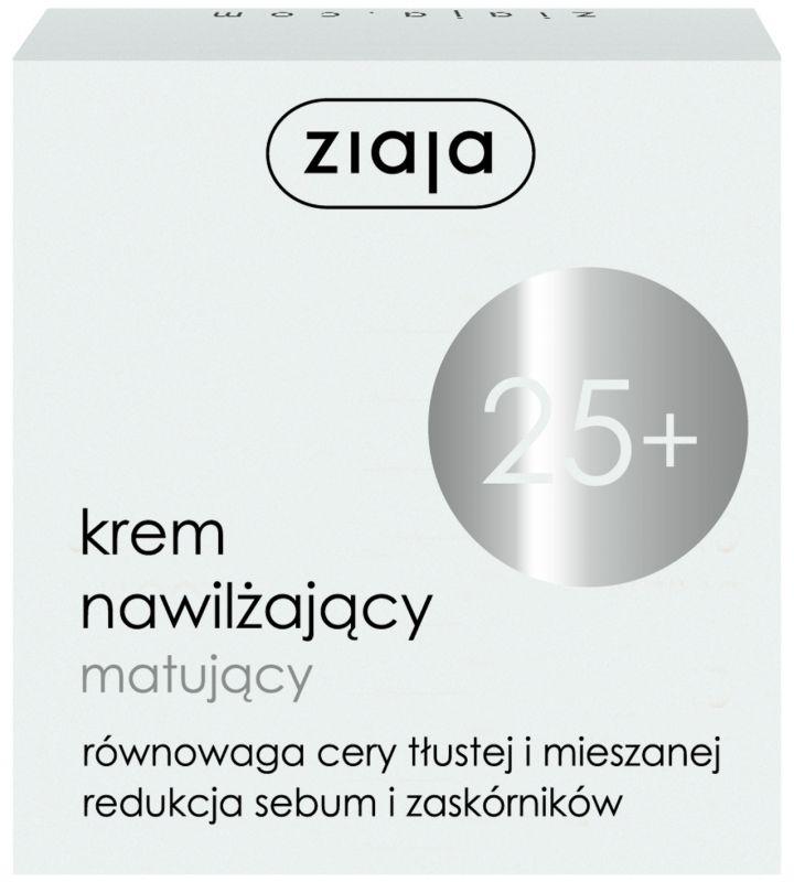 25+ hydratační matující pleťový krém 50 ml Ziaja