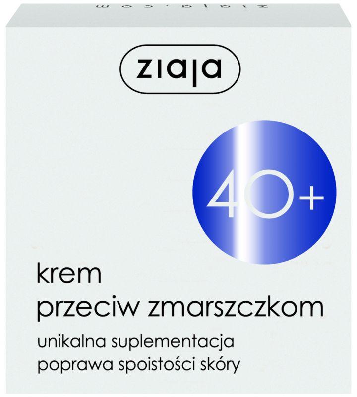 40+ polomastný protivráskový pleťový krém 50 ml Ziaja