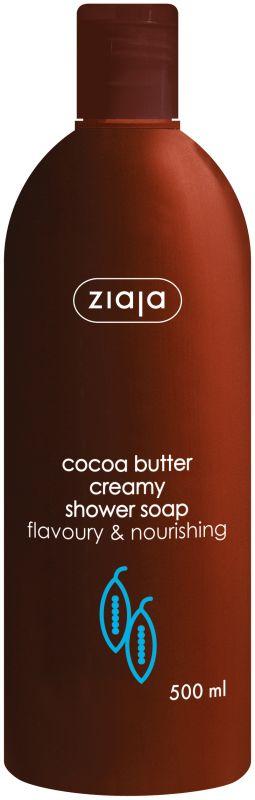 sprchový krém s kakaovým máslem 500 ml + krém na ruce 80 ml Ziaja