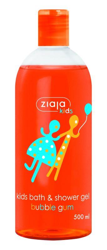 sprchový gel žvýkačka 500 ml + sprchový gel sušenka 400 ml Ziaja