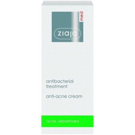 antibakteriální krém redukující akné 50 ml Ziaja MED