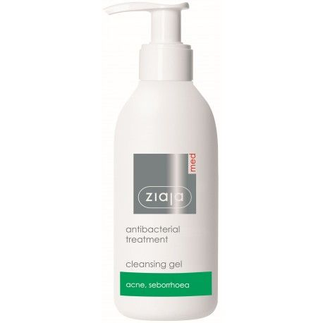 antibakteriální mycí gel 200 ml Ziaja MED