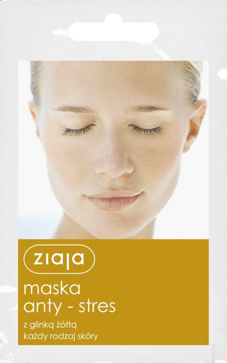 antistresová pleťová maska 7 ml Ziaja