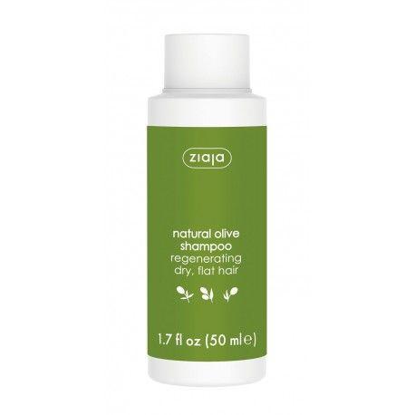 cestovní balení šampón na vlasy s olivovým olejem 50 ml Ziaja