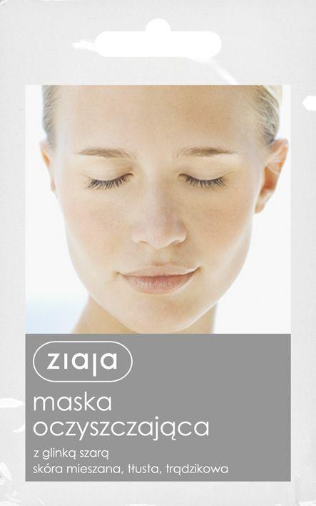 čistící pleťová maska 7 ml Ziaja