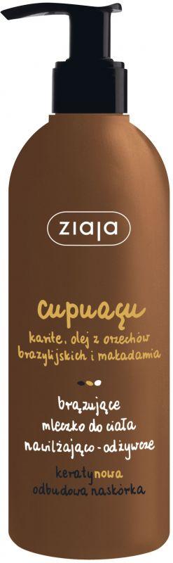 cupuacu bronzové tělové mléko 300 ml Ziaja