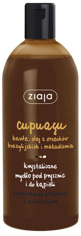 cupuacu krystalické sprchové mýdlo 500 ml Ziaja
