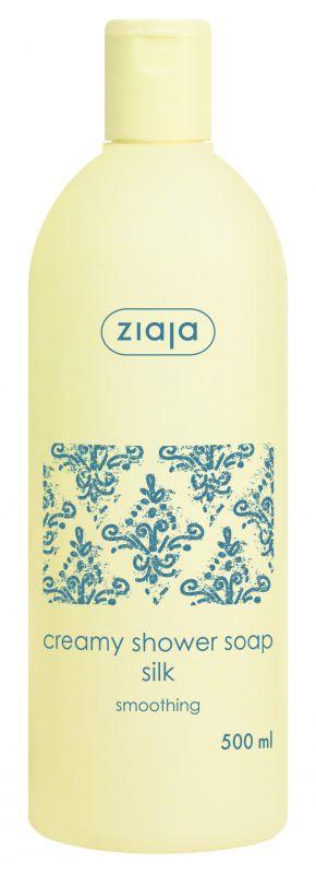 krémové sprchové mýdlo s proteiny hedvábí 500 ml Ziaja