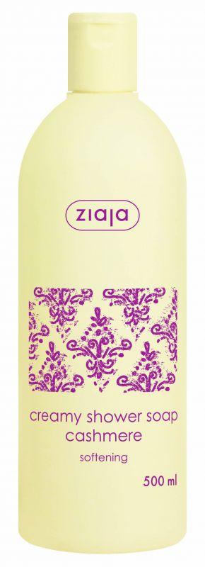 krémové sprchové mýdlo s proteiny kašmíru 500 ml Ziaja