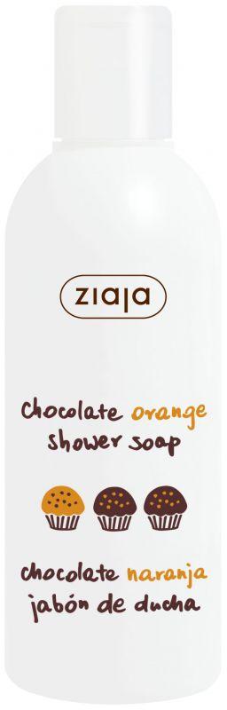 limitovaná kolekce čoko pomeranč sprchový gel 200 ml Ziaja