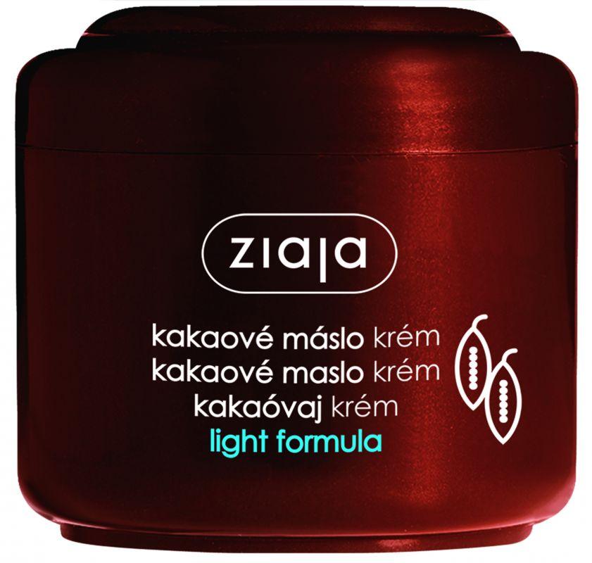 pleťový krém s kakaovým máslem lehká formule 100 ml Ziaja