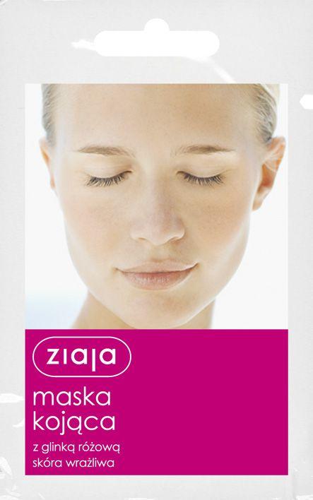 zklidňující pleťová maska 7 ml Ziaja