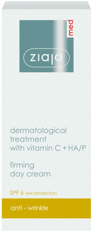zpevňující denní krém s vitamínem C a HA/P 50 ml Ziaja MED
