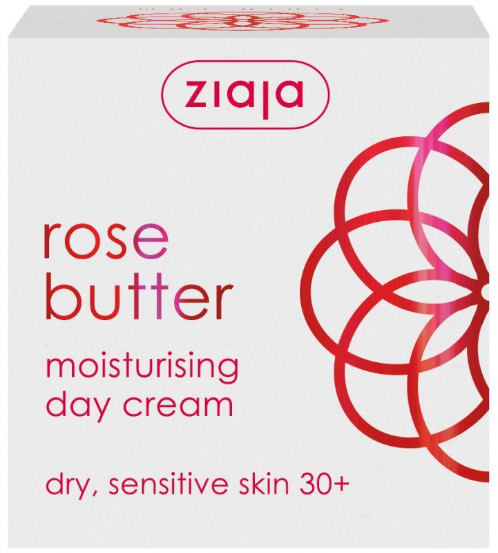 růže hydratační denní + micelární voda 200 ml zdarma Ziaja