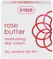 růže hydratační denní krém 50 ml + peeling 60 ml