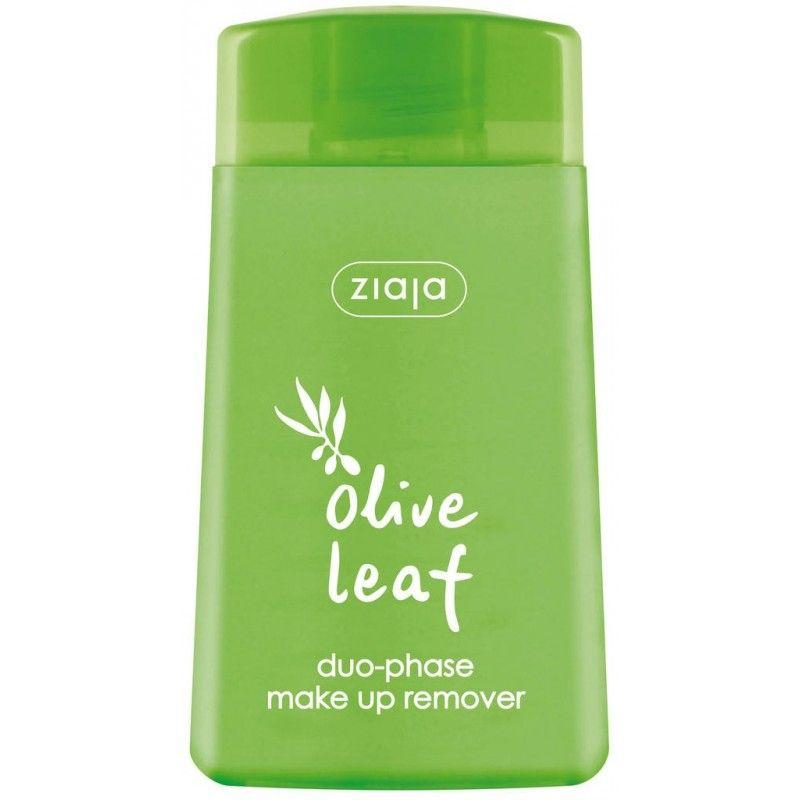 listy olivy dvoufázový odličovač 120 ml 1+1 zdarma Ziaja