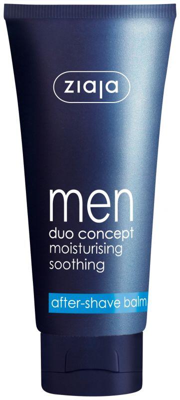 balzám po holení pro muže 75 ml + mycí gel 2v1 300 ml zdarma Ziaja