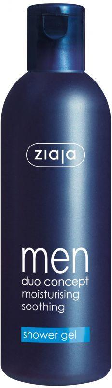 sprchový gel pro muže 300 ml + antiperspirant 60 ml zdarma Ziaja