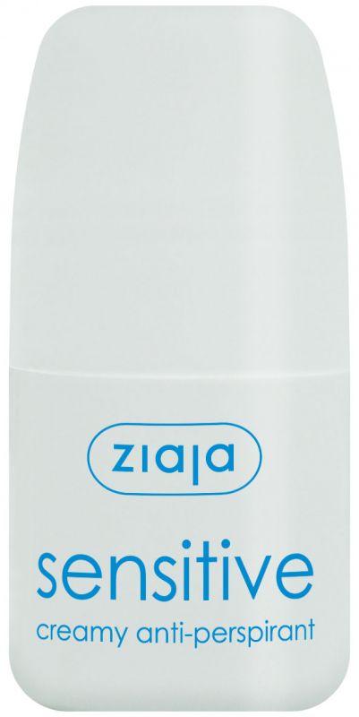 antiperspirant sensitive creamy roll-on 60 ml 1+1 zdarma Ziaja