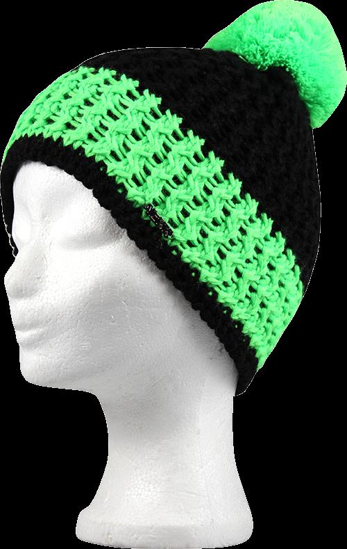 Chlapecká čepice custom zelená velikost 6-9 let, 1kus