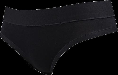 Dámské kalhotky ladyslip bamboo černá velikost XS, 1kus
