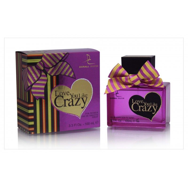 Dc Love You Like Crazy Women 100 ml Dorall Colection