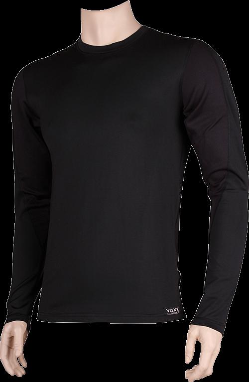Funkční prádlo solid 01 černo-černá velikost XXL, 1kus