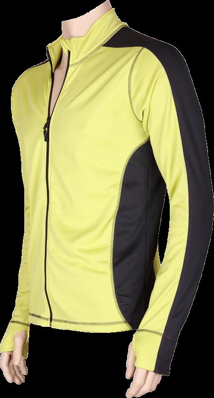 Funkční prádlo solid 12 zelená-antracit velikost XL, 1kus
