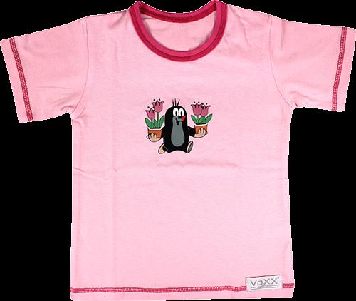 Funkční tričko kr 779 krátký rukáv růžová velikost 122-128, 1kus