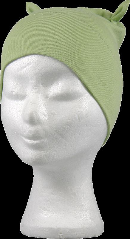 Kojenecká čepice rav uši hrášková velikost 3/38 cm, 1kus