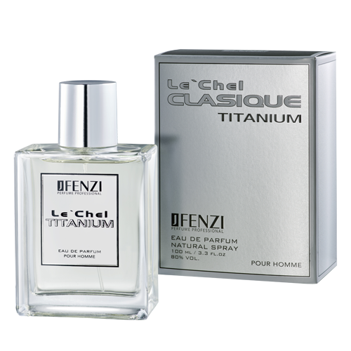 Le´Chel Titanium Men 100 ml JFENZI