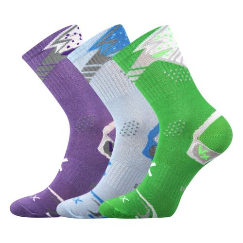 Ponožky alka mix B velikost 26-28 (39-42), 3páry