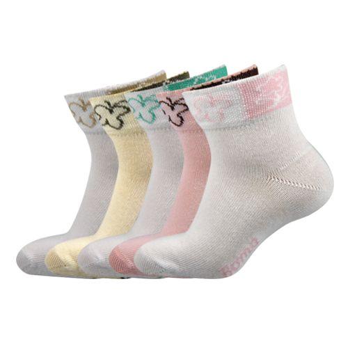 Ponožky amálka mix velikost 20-22 (30-34), 5párů