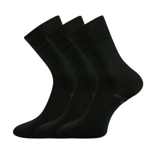 Ponožky bioban černá velikost 32-34 (48-51), 3páry