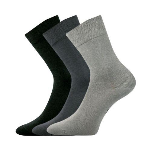 Ponožky ch07 mix velikost 23-25 (35-38), 3páry
