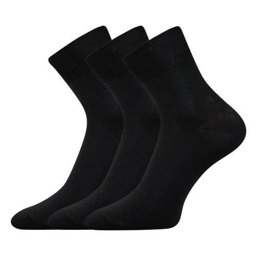Ponožky dabon-a černá velikost 29-31 (43-46), 3páry