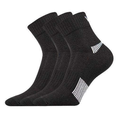Ponožky daily černá velikost 29-31 (43-46), 3páry
