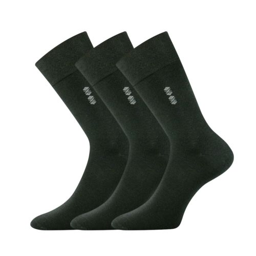 Ponožky daton černá II velikost 29-31 (43-46), 3páry