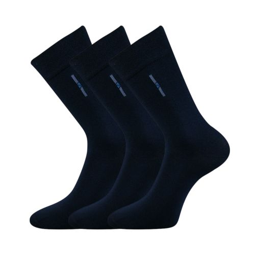 Ponožky david tmavě modrá velikost 29-31 (43-46), 3páry