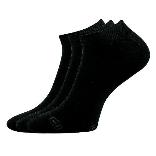 Ponožky debi černá velikost 29-31 (43-46), 3páry